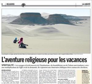 Article magazine La Liberté
