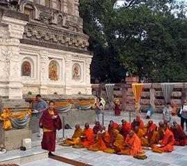 Layerslider, Temple Mahabodi, Inde - Voyages Intérieurs