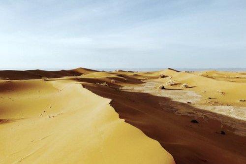 Méditation pleine conscience dans le désert