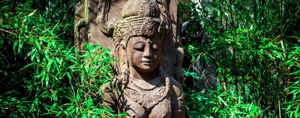 Statue INDE panoramique