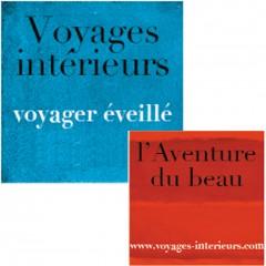 Logo Voyages Intérieurs, Aventure du beau