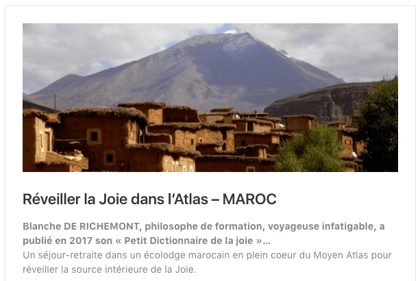 voyage initiatique atlas maroc