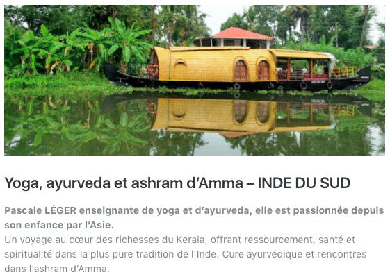 voyage cure ayurvedique INDE